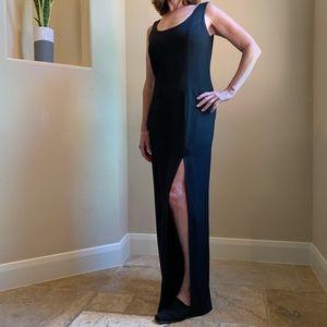Long Black Formal Dress from En Francais - Size 4